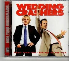 (FH747) Wedding Crashers, Music From And Inspired By The Film - 2005 sealed CD