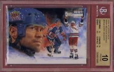 MARK MESSIER 2009-10 UPPER DECK HOCKEY HEROES PAINTING BGS 10 PRISTINE #HH28
