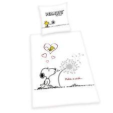 Herding Bettwäsche Snoopy Peanuts Renforce  80 x 80 cm 135/200 cm neu