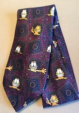 Garfield the Cat Cool Kitty Tie Necktie Cartoon Comics Framed Grin Polyester Paw
