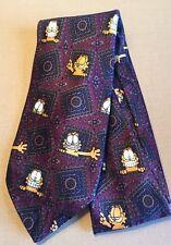Garfield the Cat men's Tie necktie Cartoon Comics Framed Grin Polyester