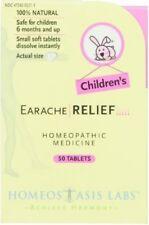 Lot Of 6 Homeostasis Labs Children Earache Relief 50 Tablets Exp 6/2018