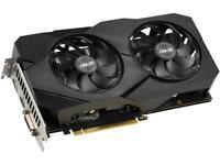 ASUS GeForce GTX 1660 Super Overclocked 6GB Dual-fan EVO Edition VR Ready HDMI D