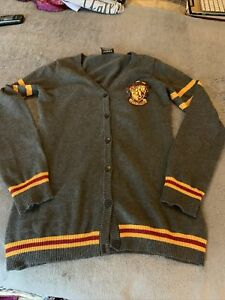Harry Potter Gryffindor Varsity Sweater Size Small