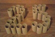25 Cardboard Tubes empty Toilet Loo Roll Art Crafts Gardening Dog Treat jokes 2B
