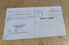 More details for usa ww2 1943 postcard fort worth army air force sanders family pilot point texas