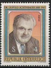 Österreich Nr.1941 ** L. Schönbauer 1988, postfrisch
