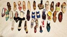 Lot Of 23 Porcelain/Ceramic Miniture High Heal Shoes