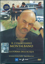 Il commissario Montalbano La forma dell'acqua (2000) DVD NEW Camilleri Zingarett