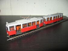 HO Liliput Tramway rouge et blanc sans boite