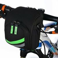 Rockbros MTB Folding Bike Front Bag Cycling Frame Handlebar Bag with Rain Cover