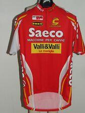 Maillot de Vélo Haut Cyclisme Sport Équipe Saeco Cannondale Taille XL