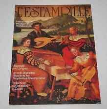 Revue d'art L'ESTAMPILLE 103 1978 Faïences Longwy Dentelles à Calais instruments