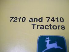 John Deere Operator'S Manual 7210 And 7410 Tractors