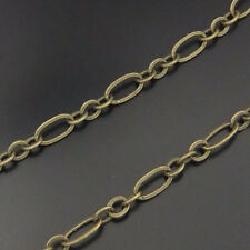 5Meters  Antiqued Bronze Vintage Brass Unfinished Chain Necklace
