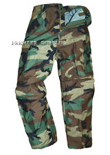 Genuine US Army Vintage Cold Weather M65 Camo Trousers, Medium Regular, NEW