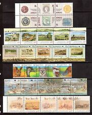 AUSTRALIA 5 strips + 1 block MUH start at less than face value