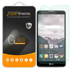 2X Supershieldz Tempered Glass Screen Protector Shield Saver For LG Stylo 2