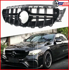 2018-2019 Mercedes E63 Amg S Front Driver Side Bumper Cover Molding; For Sedan And Wagon Models; Matte Black Finish; Made Of Pmma Plastic Partslink MB1046154