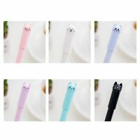 12Pcs Cats Gel Pen Cute Stationary Office Suppliers Pen Kids Gift Office. S1A1