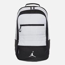 NEW Nike Air Jordan Airborne Backpack Black White 9A1944 001 $85 Retail