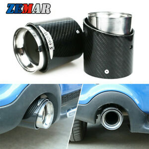1PC Car Exhaust Pipe Tip For MINI Cooper F55 F54 F56 F57 F60 R55 R56 R57 R58 R60