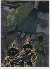 STAR WARS TOPPS GALAXY SERIES 3 ETCHED FOIL INSERT SINGLE 16 JAWAS