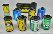 Lot/9 Rolls of Film Exposed/Undeveloped 35mm and Others