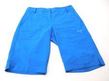 Puma Women's Dry Cell Blue Bermuda Golf Shorts Size 4