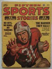 FIFTEEN SPORTS STORIES pulp magazine October 1948