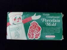 Edible Compliments Santa Porcelain Mold Butters Chocolate Jareen 4021