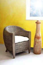 Sessel Rattansessel Clubsessel Loungesessel Lounge Stuhl Peddigrohr Rattan