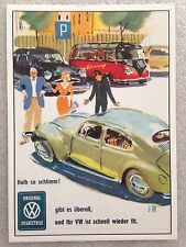 Volkswagen - Accident Post Card 1st On eBay Car Postcard. Own It!