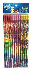 Disney Inside Out Pencils School stationary Supplies 12pc