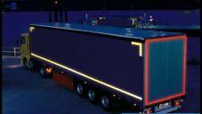 1:14 Truck Tamiya Rouge Réfléchissant Remorque Bande Vinyle Autocollant