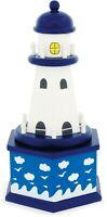 Ulysse Music Box Musikspieluhr Leuchtturm aus Holz 3873 La mer (Charles Trenet)