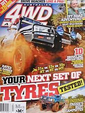 Australian 4WD Action Magazine No 209 - Your Next Set Of Tyres Tested