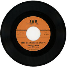 "BOBBY KIMBLE With JIMMY NOLAN BAND  ""STOP RIGHT HERE I GOT LOVE""  NORTHERN SOUL"