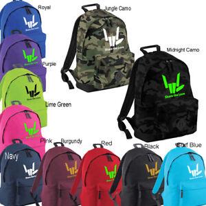SHARE THE LOVE Backpack Rucksack School GYM PE College Bag Youtube 1 Hits