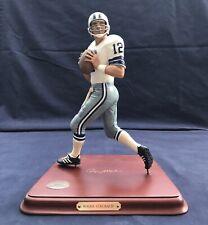 Dallas Cowboy's Qb Roger Staubach Danbury Mint Figurine