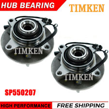 2x TIMKEN SP550207 Front Wheel Hub & Bearing for 2005-2008 Ford F-150 Truck 4WD