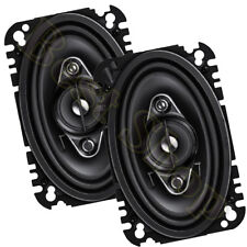 """Pioneer TS-A4670F 4"""" x 6"""" 4-WAY CAR AUDIO SPEAKERS /210W MAX (SOLD BY PAIR)"""