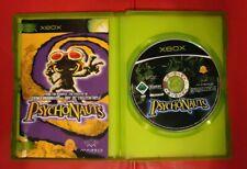 Psychonauts Original Xbox PAL Game Complete Great Condition Rare