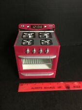 Rare Red Barbie Tyco Kitchen Littles Stove Oven Furniture for your House +Store