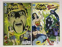 Batman '66 Meets Wonder Woman '77 lot of 2 comics:4 & 5 DC 2017