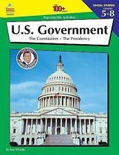 U.S. Government, Grades 5 - 8 (The 100+ Series)