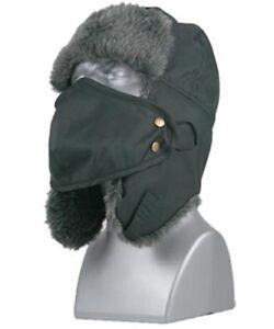 Men's Winter Face Mask Tusser Detachable Face Mask Trapper