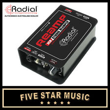 RADIAL REAMP JCR PASSIVE STUDIO REAMPER DEVICE DIRECT BOX  NEW