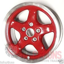 HSV SV3800 Walkinshaw 16x7 Red Bare Alloy Rims (SINGLES) 92034995