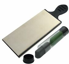 Doubled Sided Leather Strop Large 3 inch Wide Paddle Strop with Compound